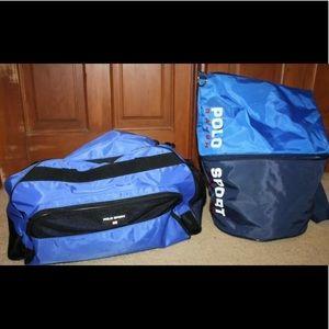 Polo Sport Ralph Lauren Duffel Bag Bundle